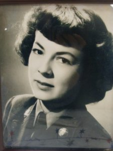 Mom during WWII